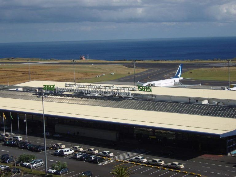 Airport in Ponta Delgada