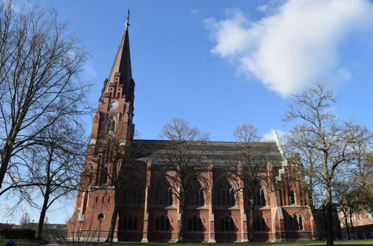 Temple of All Saints in Lund