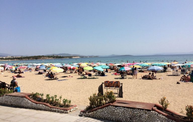 Altinkum Beach in Turkey