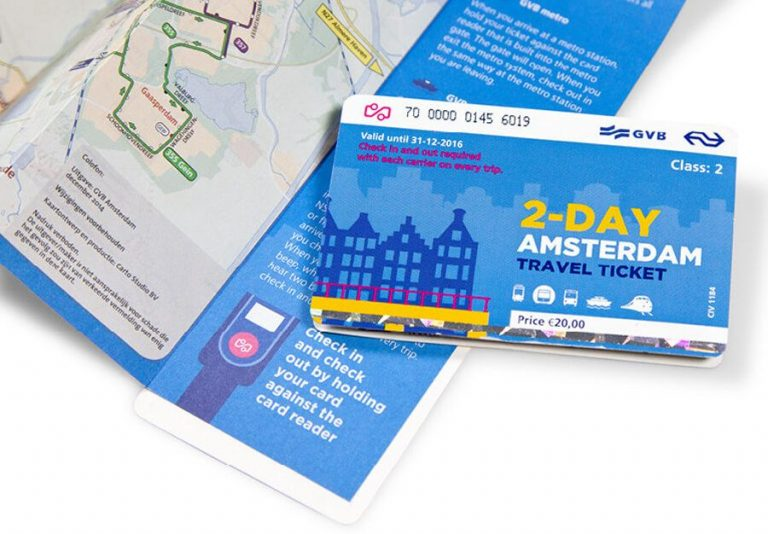 Amsterdam Travel Ticket for 2 days