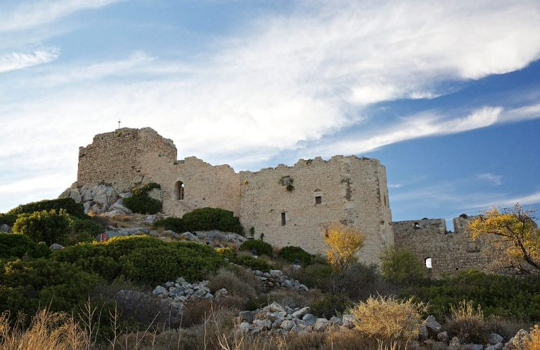 The ancient fortress of Castello