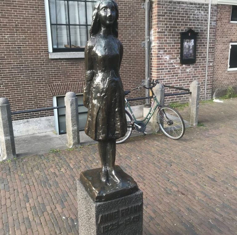 Monument to Anne Frank