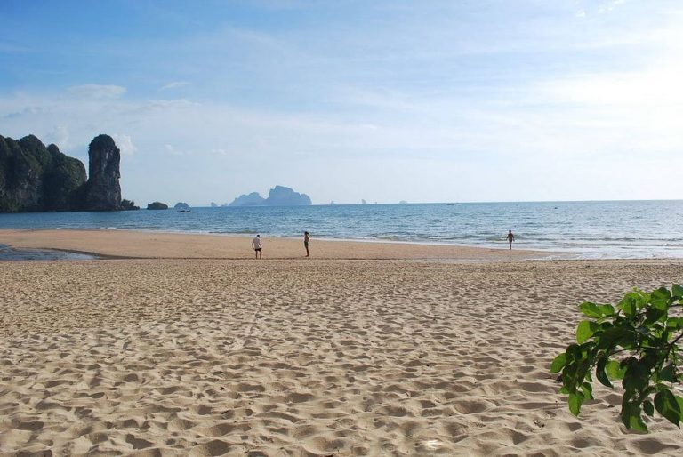 Ao Nang Beach on Krabi
