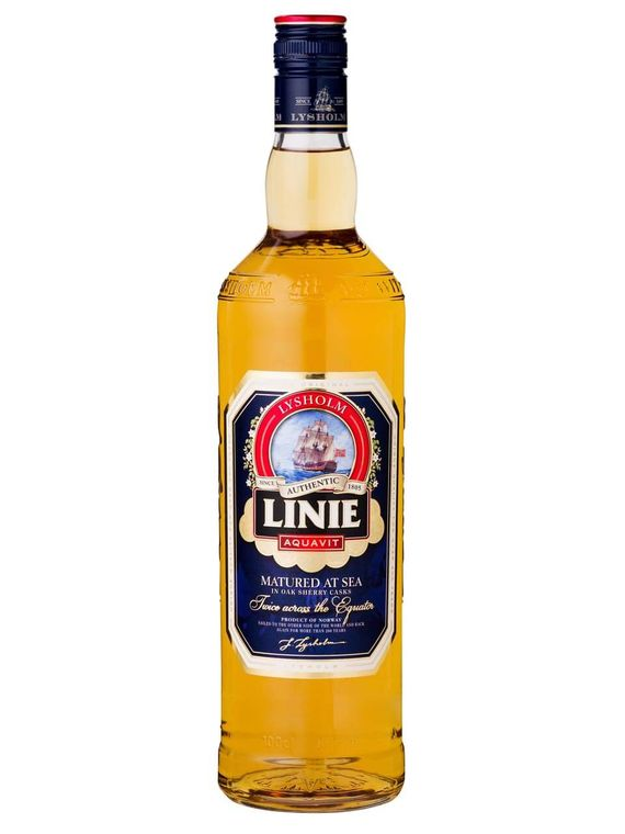 Alcohol drink Aquavit