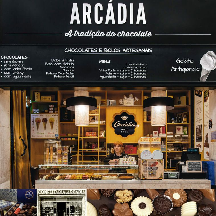 Chocolate Shop Arcádia