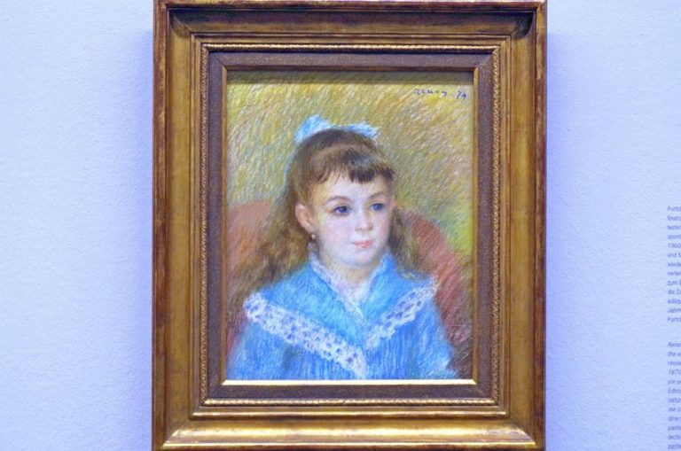 Auguste Renoir, Portrait of a Girl