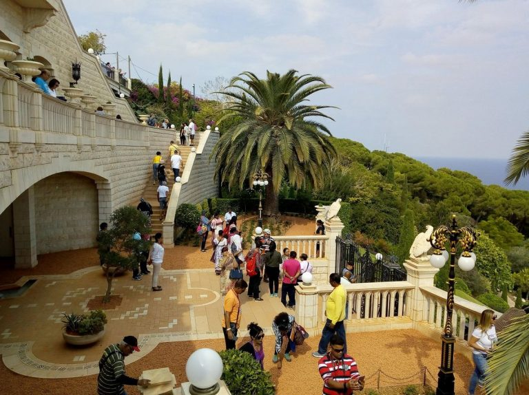 Excursion Group in the Baha'i Gardens