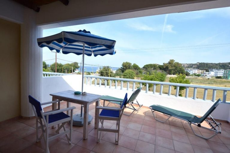 Balcony at Kathara Bay Apartments