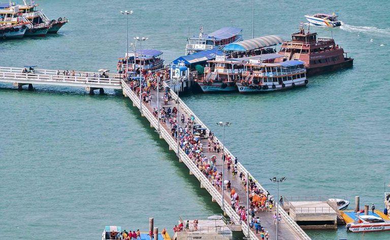 Bali Hai Pier - Ferry Departure Point to Koh Lan Island
