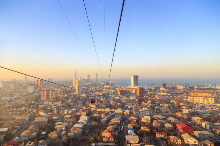 Argo cable car to Batumi