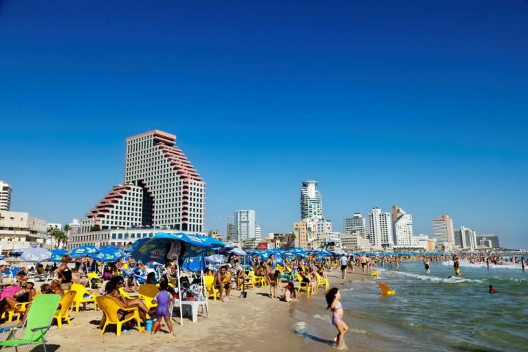 Sea Holidays in Tel Aviv