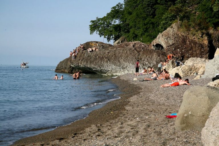 Beach in Trabzon