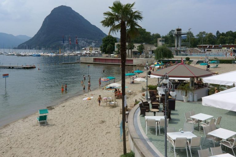 Beach Area Lido di Lugano