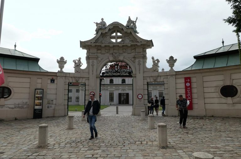 Entrance to the Lower Belvedere