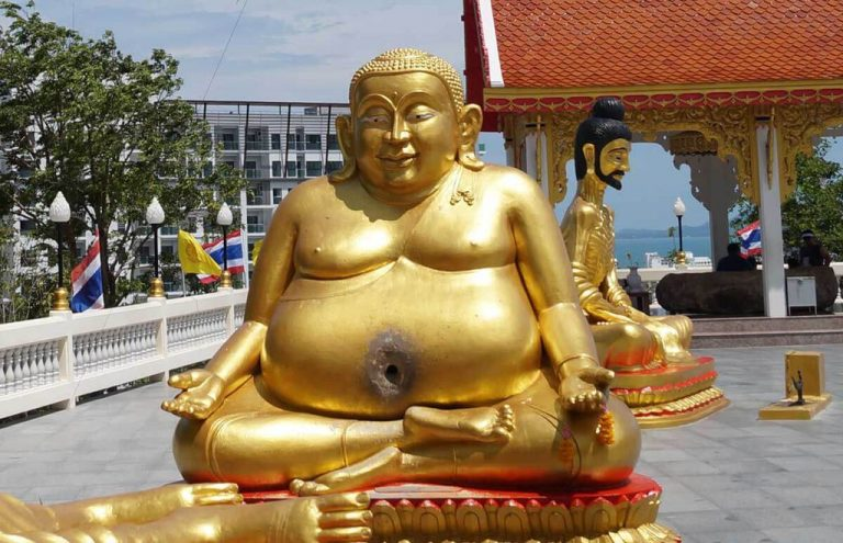 The fattest Buddha - a symbol of financial well-being