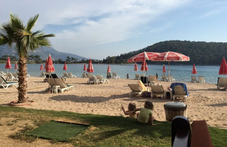Billy's Beach South of Fethiye