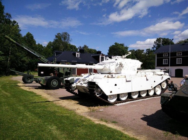 Museum of military equipment in Karlstad
