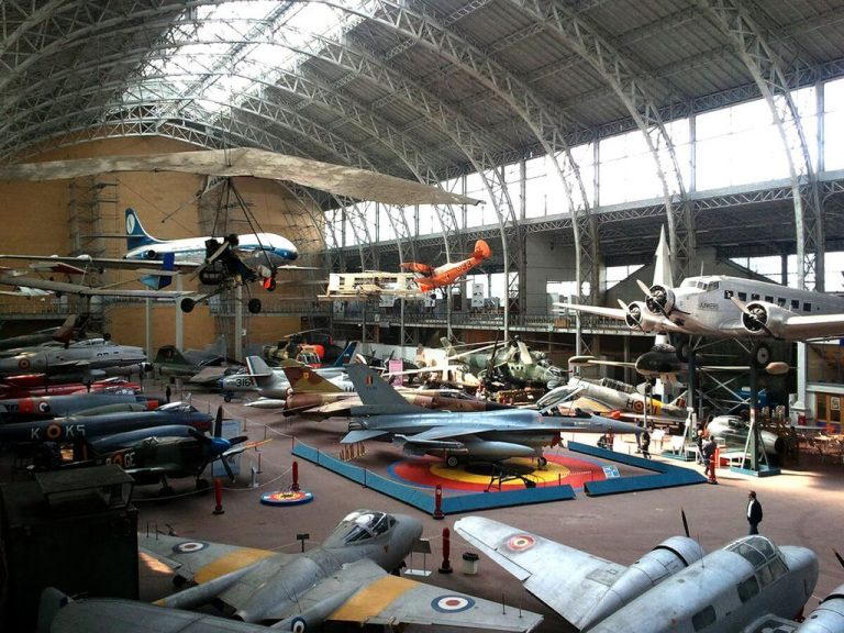 Aircraft at the Royal Museum of the Army and Military History