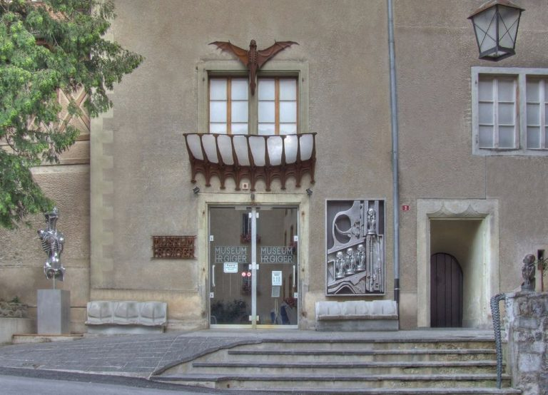 Giger Museum Building