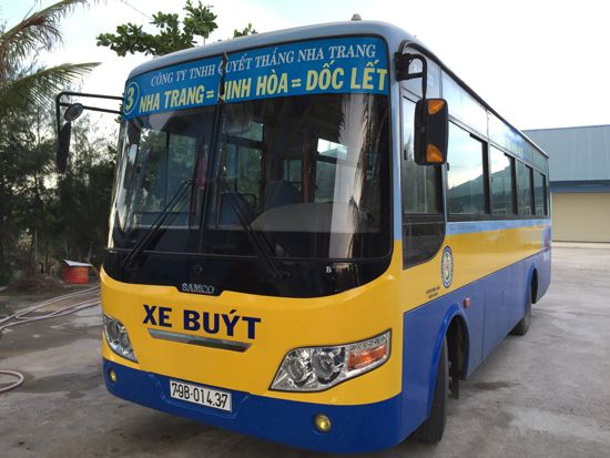 Photo: bus number 3 in Nha Trang