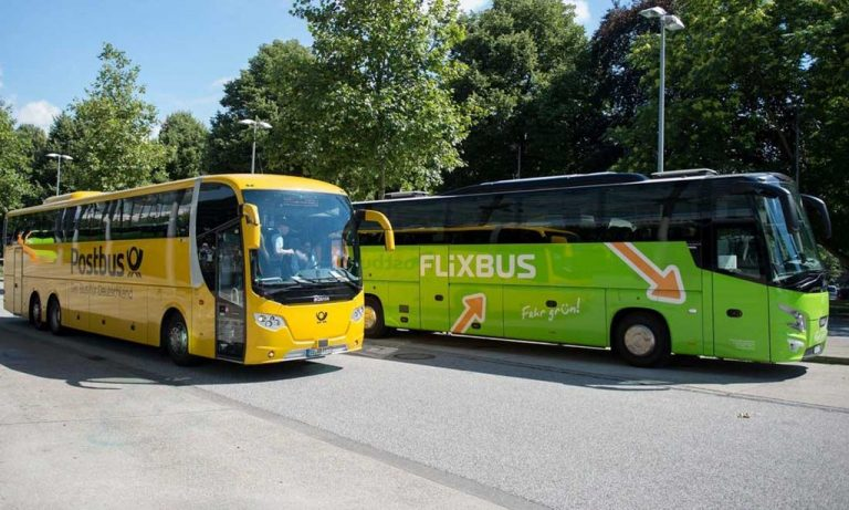 By bus to Bern