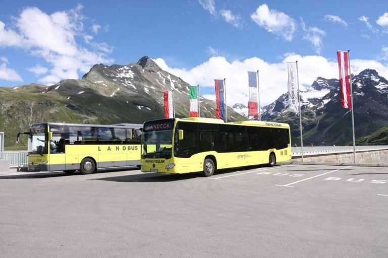 Bus from Landeck Zams to Ischgl
