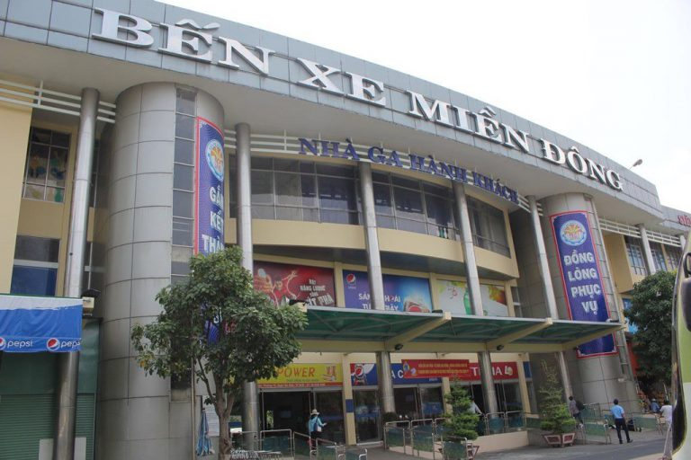 Mien Dong Bus Station Photos