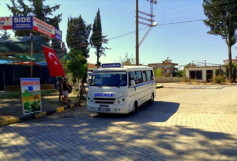 Bus to Manavgat Falls