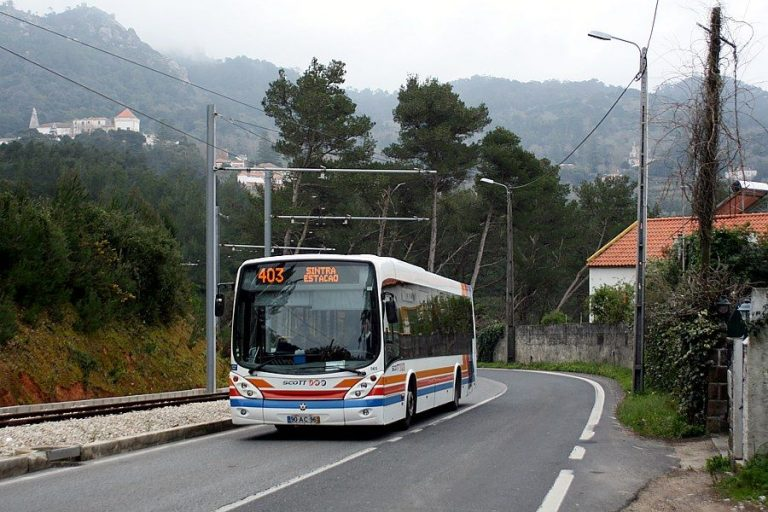 Bus to Sintra