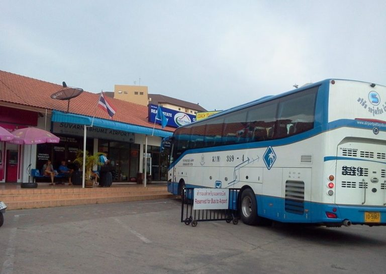 By bus from Pattaya