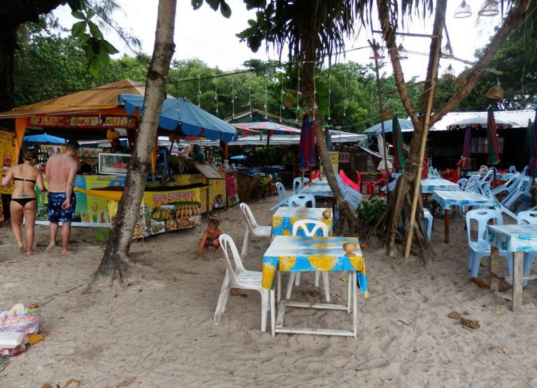 Cafe on Kata Beach