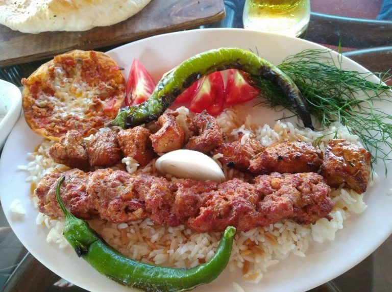 Kebab for lunch