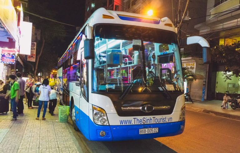 Bus from downtown Ho Chi Minh City
