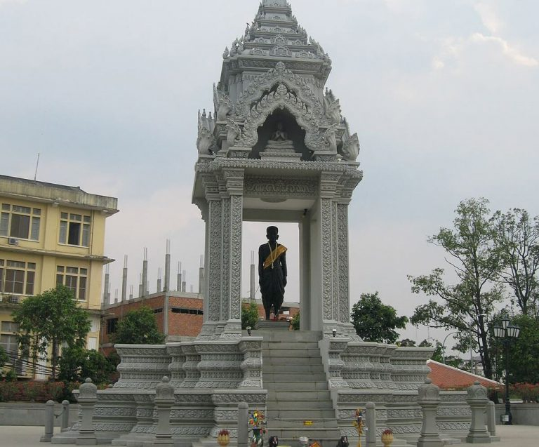 Statue of Lady Pen