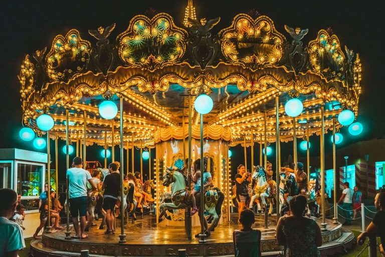 Carousel for little ones