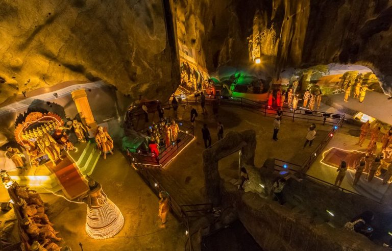 Cave of the Ramayana Epic