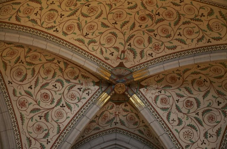 Uppsala Cathedral ceiling