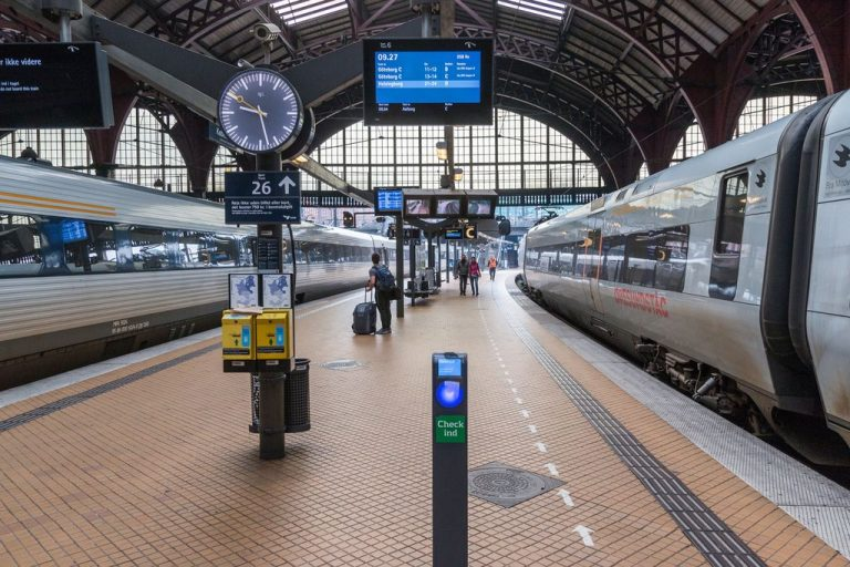 From Copenhagen to Malmo by train