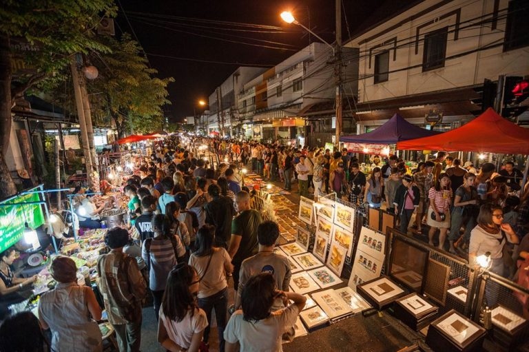 Night Market, Chiang Mai