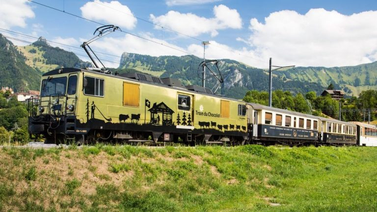 Chocolate Train from Montreux