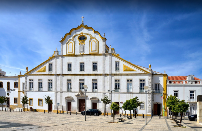 Jesuit College College Church in the center of Portimão