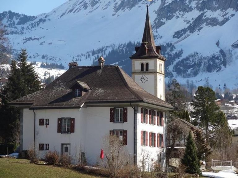 Grindelwald Ancient Church