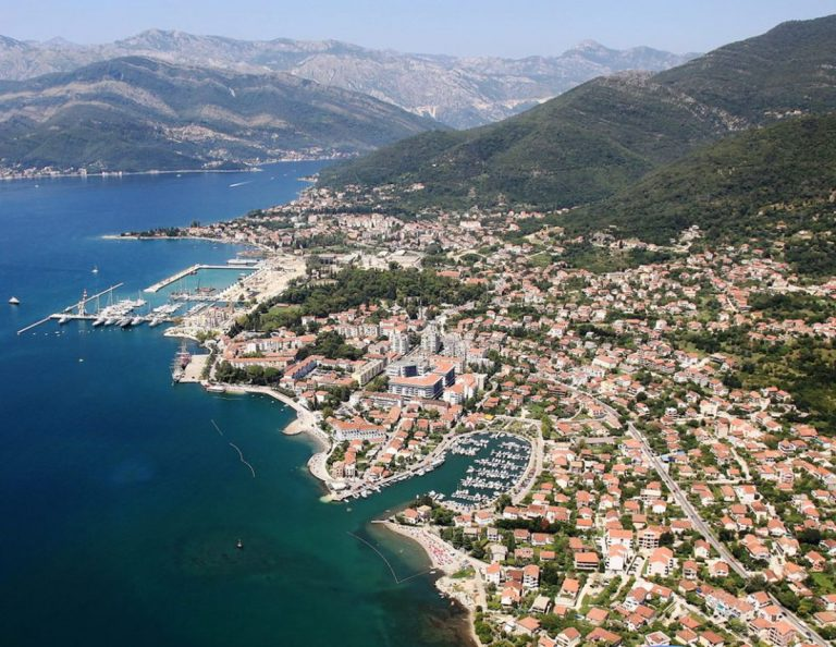 It looks like Tivat from a height