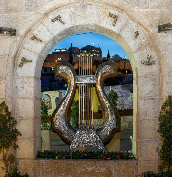 Symbol of the city of David