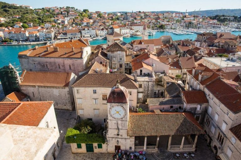 View of the city of Trogir