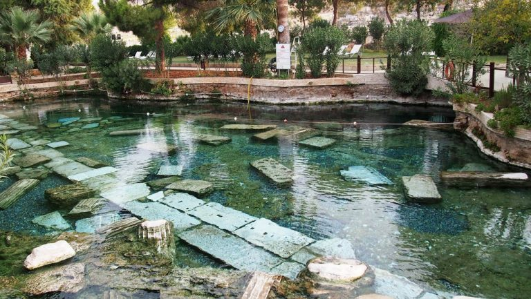 Cleopatra Pool in Pamukkale