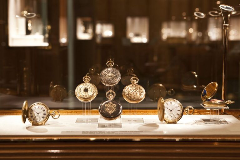 Watches at the Patek Philippe Watch Museum