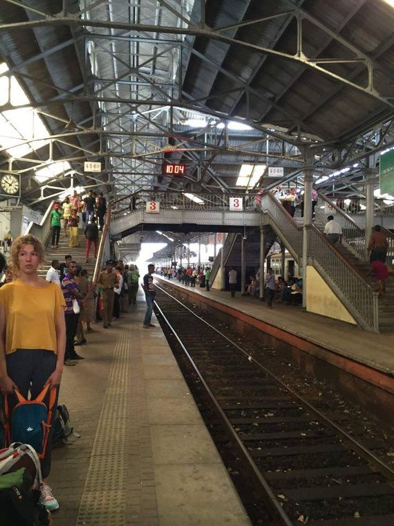 Railway station Colombo Fort