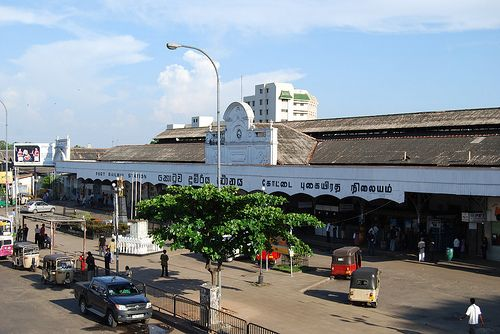Photo: Colombo Fort Railway Station