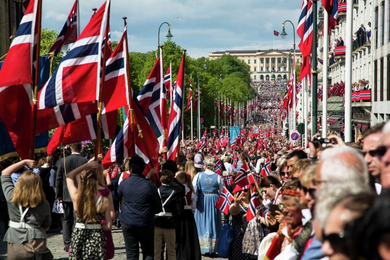 Norwegian Constitution Day in Oslo